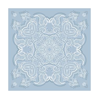 Lace Background: Mandala Posters by  Katyau