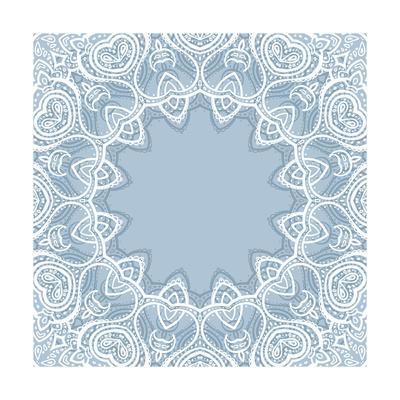 Lace Background: Mandala Art by  Katyau