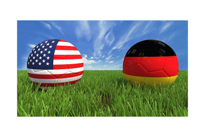 USA-Germany Prints by  mhristov