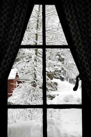 Winter Window Photographic Print by  Karimala