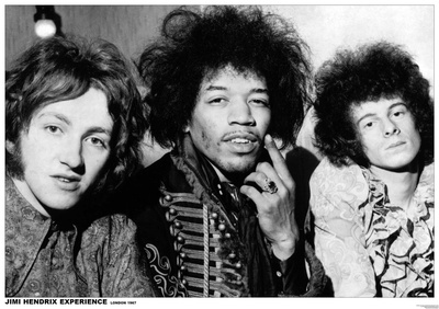 Jimi Hendrix Experience – London 1967 Posters