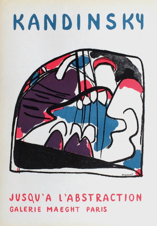 Galerie Maeght Collectable Print by Wassily Kandinsky