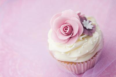 Wedding Cupcake Photographic Print by Ruth Black