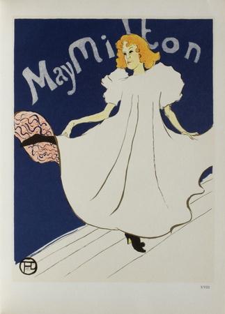 May Milton Collectable Print by Henri de Toulouse-Lautrec