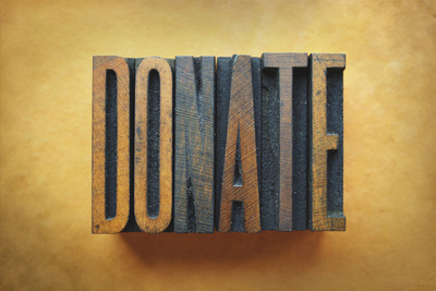 Donate Photographic Print by  enterlinedesign