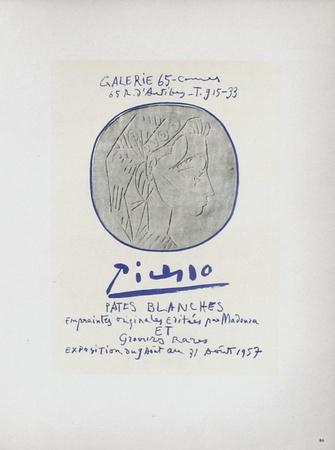 AF 1957 - Pâtes blanches Samlertryk af Pablo Picasso
