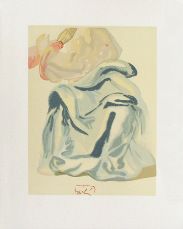 Divine Comedie, Paradis 30: A l'Empyree Collectable Print by Salvador Dalí