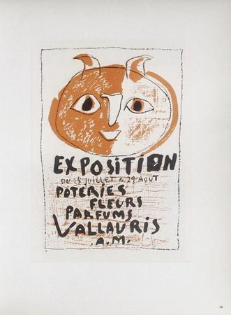 AF 1948 - Poteries Fleurs Parfums III Samlertryk af Pablo Picasso