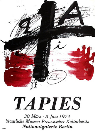 Expo Berlin Collectable Print by Antoni Tapies