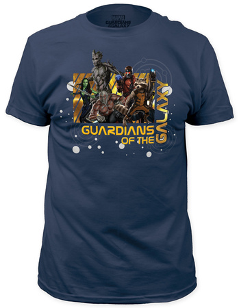 Guardians of the Galaxy - Star Map (slim fit) T-shirts