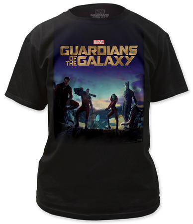 Guardians of the Galaxy - Poster T-shirts
