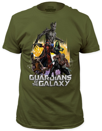 Guardians of the Galaxy - Battle Ready (slim fit) T-Shirt