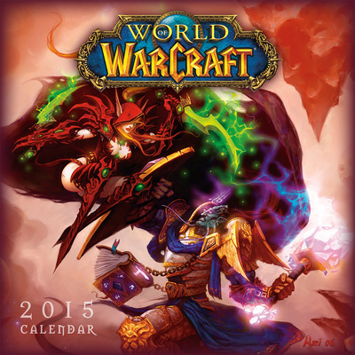 World of warcraft 2015 calendar artwork of the MMO pc game