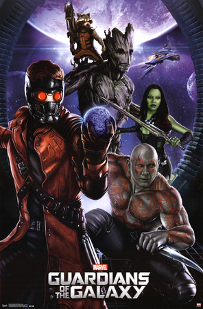 Guardians of the Galaxy - Group Photo