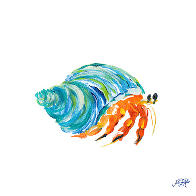 Sea Creatures II Prints by Julie DeRice