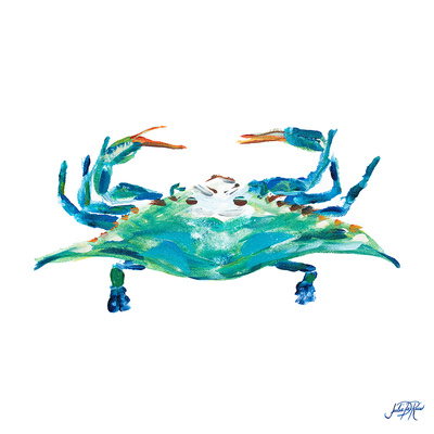 Sea Creatures I Print by Julie DeRice