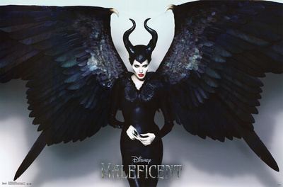 Maleficient wings poster photo