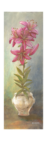 2-Up Lily Vertical Prints by Wendy Russell