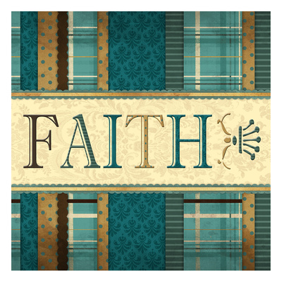 Faith Plaid in Turquoise Prints by Jace Grey