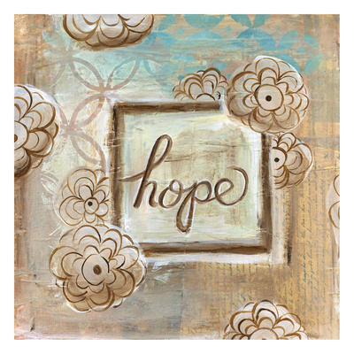 Hope Flowers Print by Erin Butson