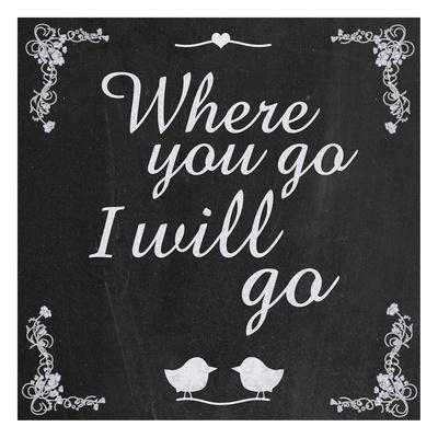 Where Go 5 Print by Lauren Gibbons