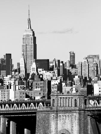 NYC Skyline II Photographic Print by Jeff Pica