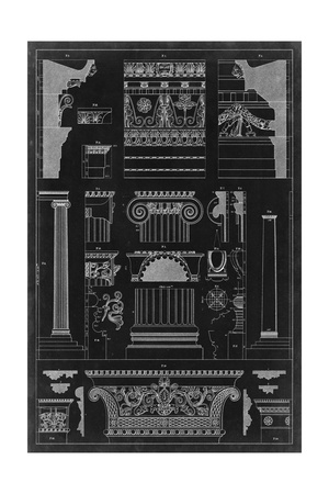 Graphic Architecture IV Posters by  Vision Studio