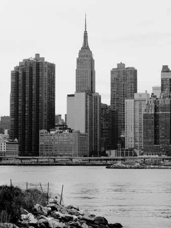 NYC Skyline III Photographic Print by Jeff Pica