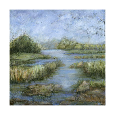 Marshland I Posters by Beverly Crawford