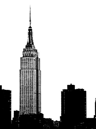 NYC Skyline I Photographic Print by Jeff Pica