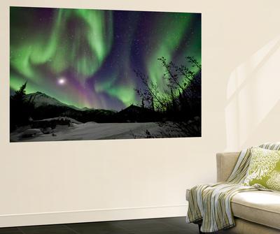 Aurora Borealis VIII Wall Mural by Larry Malvin