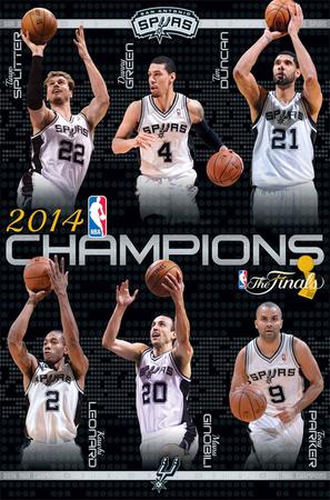 NBA Finals Champs Posters