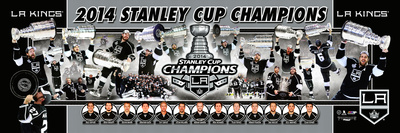 Los Angeles Kings 2014 NHL Stanley Cup Champions Photoramic Photo