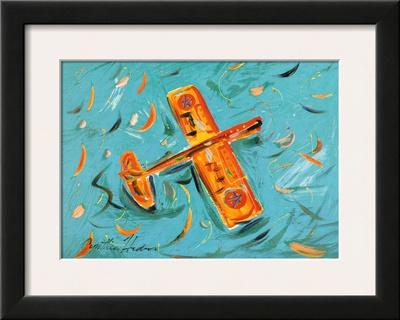 Airplane Prints by Cynthia Hudson