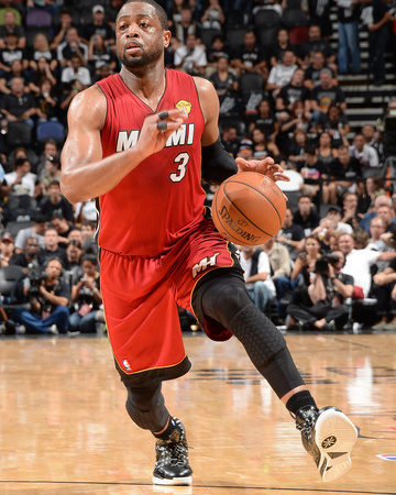 2014 NBA Finals Game One: Jun 05, Miami Heat vs San Antonio Spurs - Dwayne Wade Photo by Andrew Bernstein