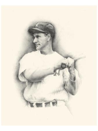 Lou Gehrig Plakater af Allen Friedlander
