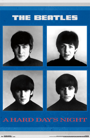 The Beatles - A Hard Day's Night Prints