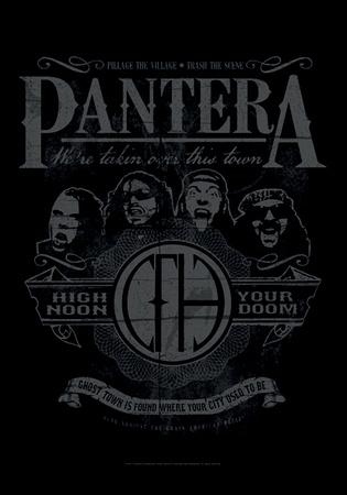 Pantera - High Noon Your Doom Prints