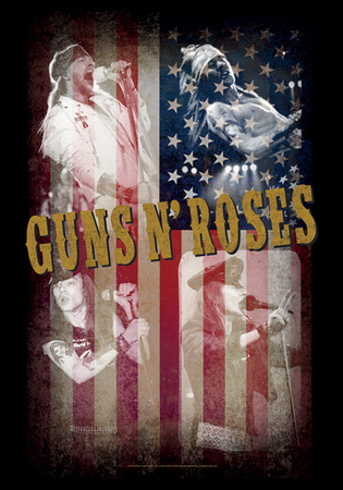 Guns N' Roses - Collage Posters