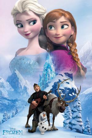 Frozen - Collage plakat