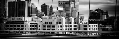 Panoramic View of Brooklyn Bridge of the Watchtower Building Photographic Print by Philippe Hugonnard