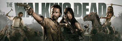 The Walking Dead - Banner Prints