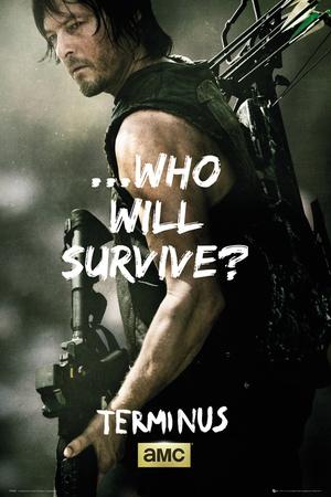 Walking Dead - Daryl Survive Affischer