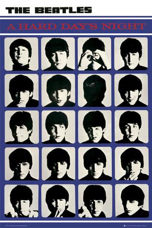 The Beatles – Hard Days Night Kunstdrucke