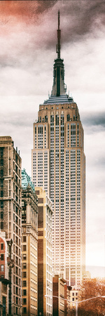 Instants of NY Series - Vertical Panoramic Photographic Print by Philippe Hugonnard
