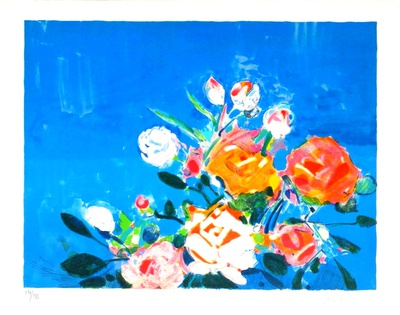 Bouquet de roses I Limited Edition by Gilles Gorriti