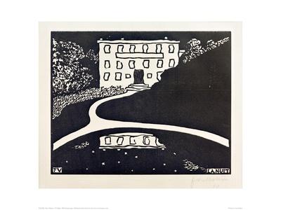 The Night Giclee Print by Félix Vallotton