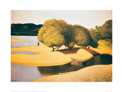 Sands on the Edge of the Loire Giclee Print by Félix Vallotton