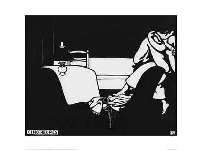 Five O'Clock Giclee Print by Félix Vallotton