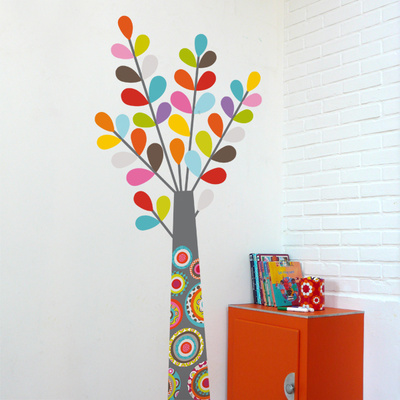Colourful Tree Wall Decal Wall Decal